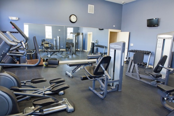 Fitness Center atCity Flats on Tenth